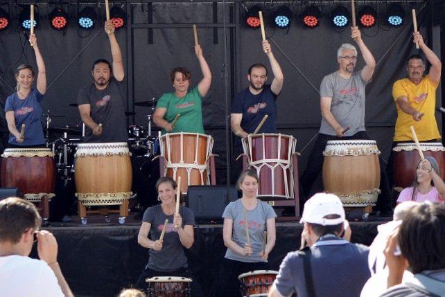 IN PLANUNG: Rheintrommeln: Taiko Heidelberg trommelt über den Rhein (Japanische Rhythmen)